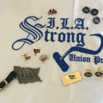 ILA Assortment cuff Links and Bag tag