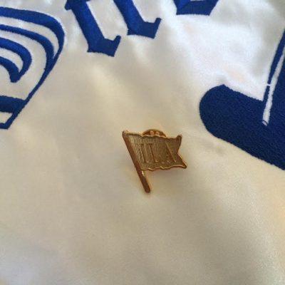 ILA Gold Flag Lapel Pin